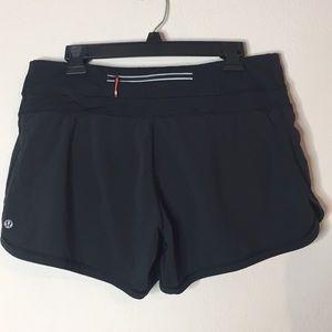 Lululemon Athletica Black Shorts 10